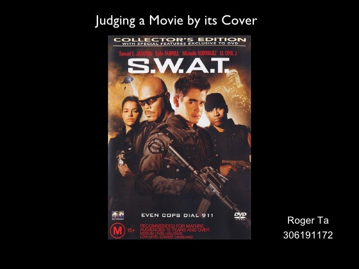Judging a Movie by its Cover Roger Ta 306191172