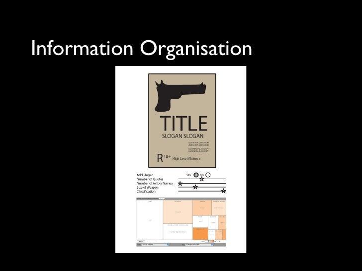Information Organisation
