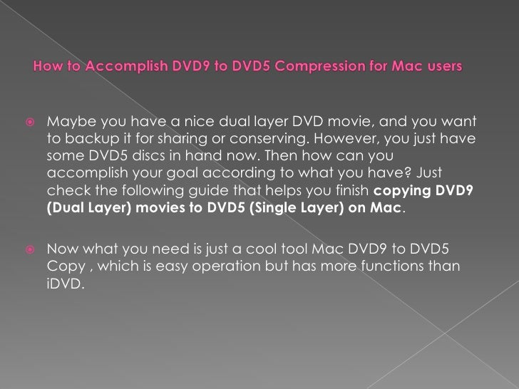 how to make a dvd movie on mac