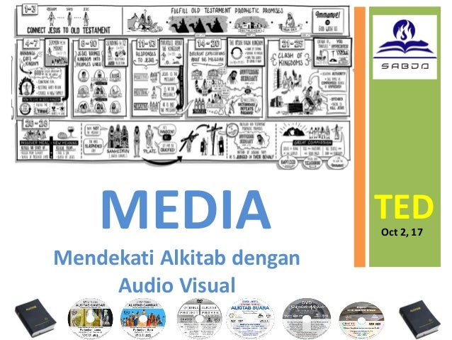 MEDIA TEDOct 2, 17 Mendekati Alkitab dengan Audio Visual