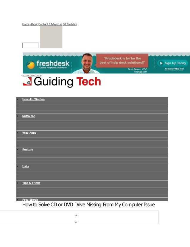 Home About Contact / Advertise GT Mobiles advertise here How-To/Guides o o o o Software o o o o Web Apps o o o o Feature o...