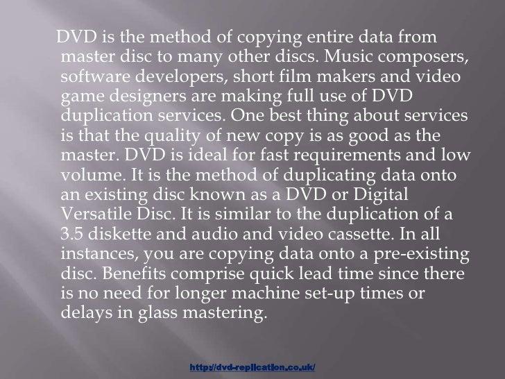 Dvd duplication service Slide 2