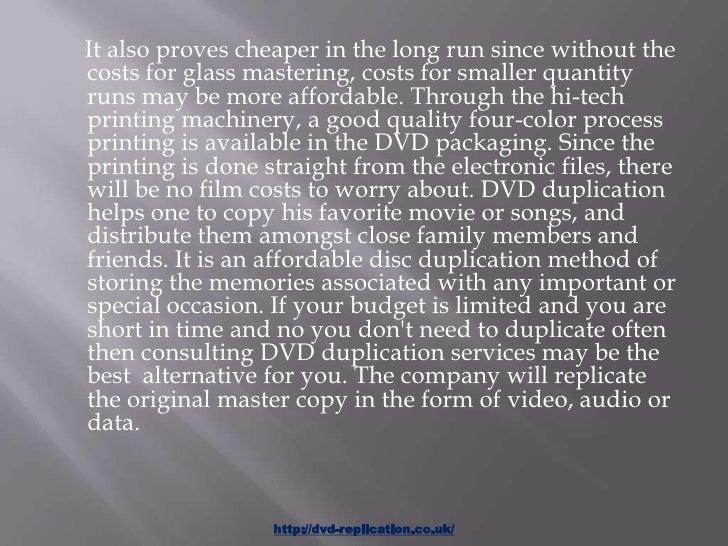 Dvd duplication service Slide 3