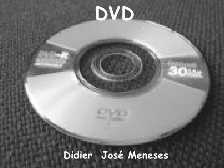 DVD Didier  José Meneses