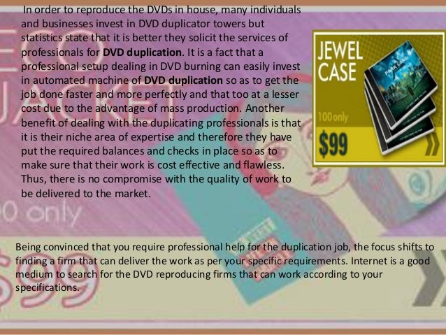 In order to reproduce the DVDs in house, many individuals and businesses invest in DVD duplicator towers but statistics st...