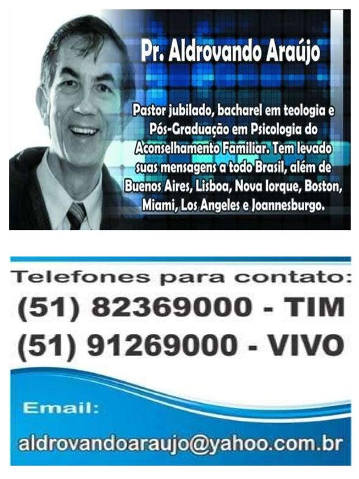 ADQUIRA OS DVDS DO          Pr. ALDROVANDO            POR UNIDADECOLEÇÃO COMPLETA COM 16 EM16+7 EXTRAS = 23 UNIDADES