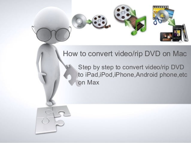 How to convert video/rip DVD on Mac    Step by step to convert video/rip DVD    to iPad,iPod,iPhone,Android phone,etc    o...
