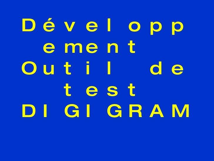Développement  Outil de test DIGIGRAM