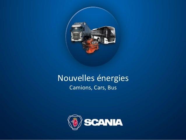 Nouvelles énergies Camions, Cars, Bus