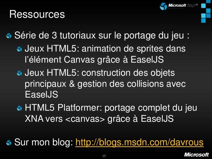 Développement d'un jeu de plateforme en html5