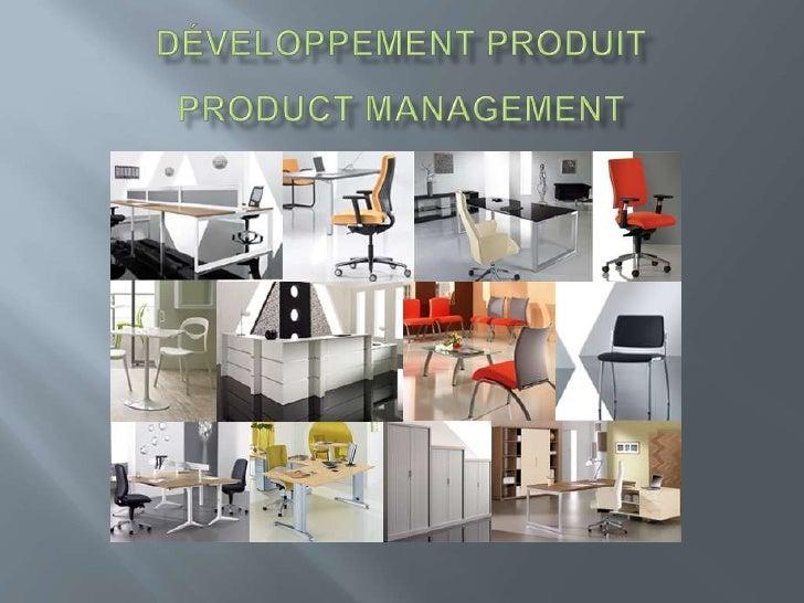 Développement produit product management <br />