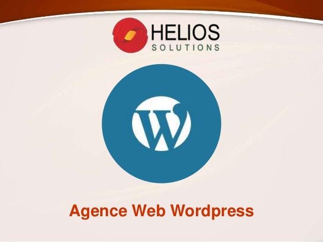 Agence Web Wordpress