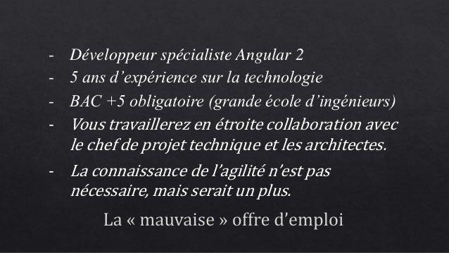 [Agile Tour Toulouse 2016] Développeur après 30 ans, n'as-tu donc aucune ambition ?