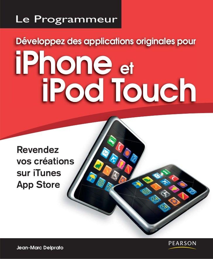 Développez des applications originales pouriPhone et  iPod TouchRevendez z         io          onsvos créations        ess...
