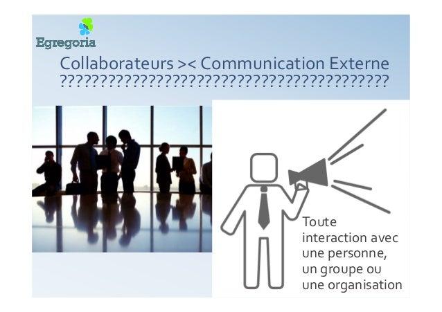 Comment développer votre communication externe… AVEC vos collaborateurs ? 4+4 étapes •Bilan •Vision •Analyse •Plan d'actio...