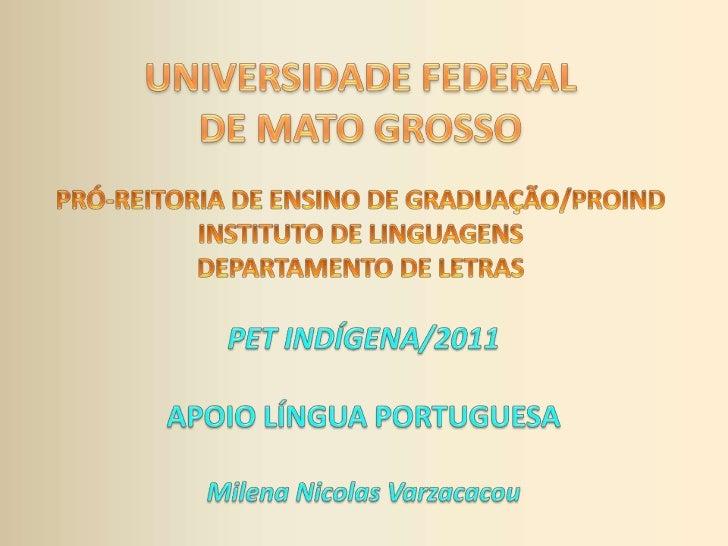 Dificuldades mais frequentes na        Língua Portuguesa:     Esclarecimentos