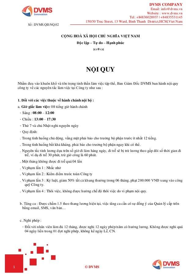 DVMS COMPANY Email: info@dvms.vn Website : www.dvms.vn Tel: +84836028937 | +84835531145 150/30 Truc Street, 13 Ward, Binh ...