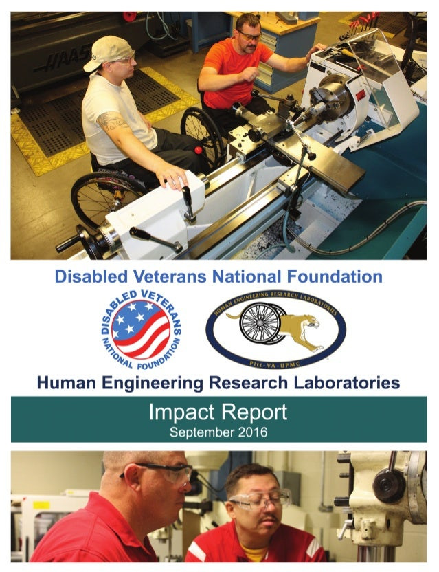 Impact Report: DVNF & Human Engineering Research Labs