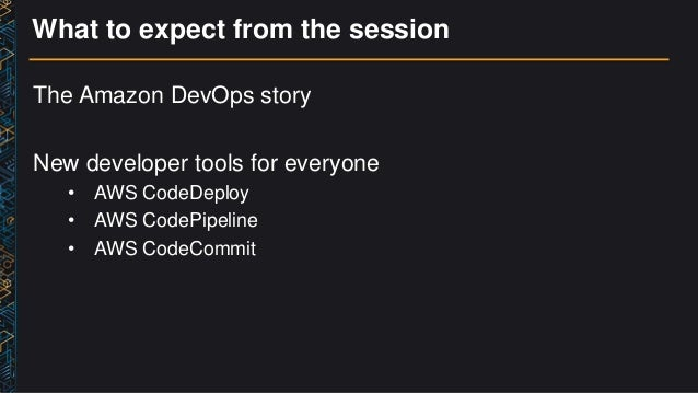 (DVO202) DevOps at Amazon: A Look At Our Tools & Processes Slide 2