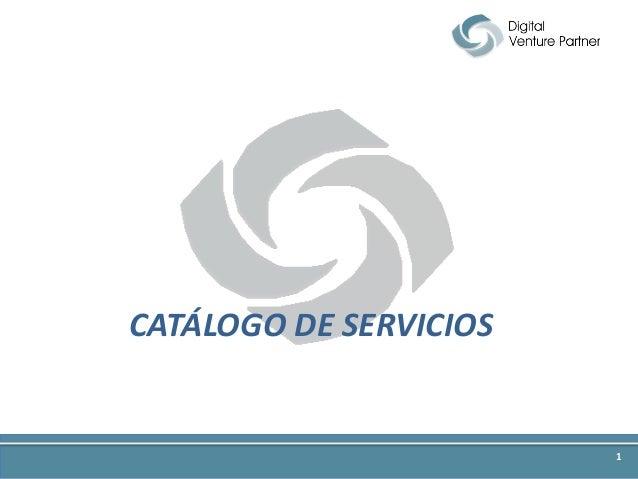 CATÁLOGO DE SERVICIOS 1