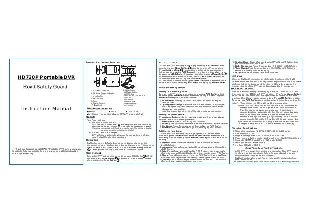 dvr 007 english user manual rh slideshare net english user manual for x5c-1 drone english user manual aeg l6fb54480