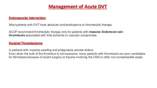 dvt prophylaxis in orthopaedics