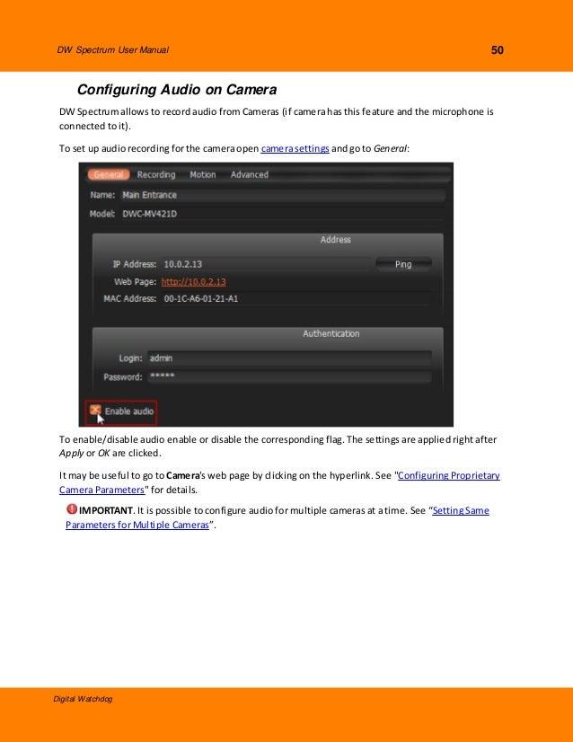 Digital Watchdog DWBJCUBE2TLX User Manual