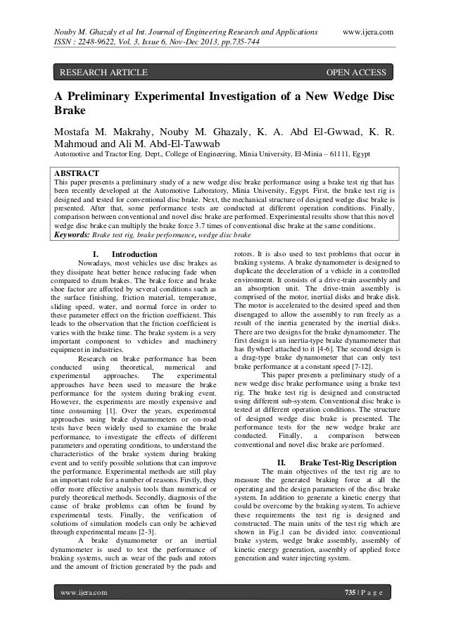 Nouby M. Ghazaly et al Int. Journal of Engineering Research and Applications ISSN : 2248-9622, Vol. 3, Issue 6, Nov-Dec 20...