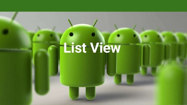 Android - Listview with source code