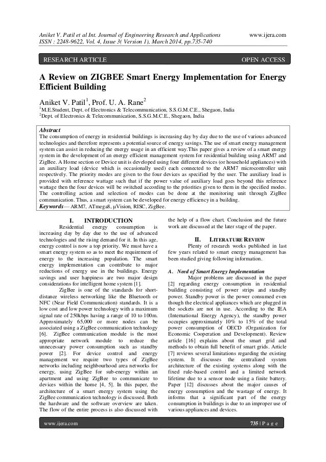 Aniket V. Patil et al Int. Journal of Engineering Research and Applications www.ijera.com ISSN : 2248-9622, Vol. 4, Issue ...