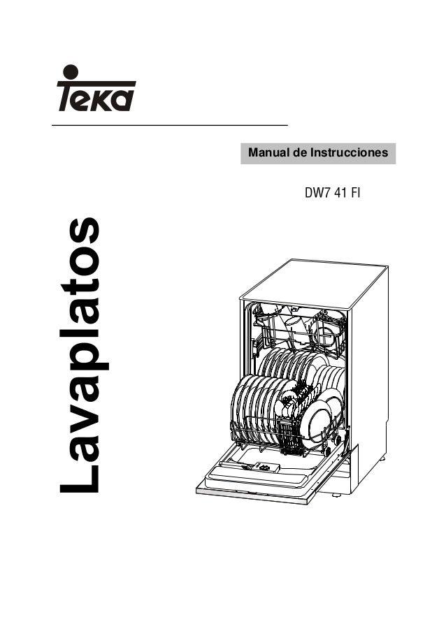 lavavajillas Teka DW7 41 FI