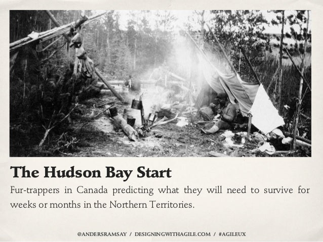 The Hudson Bay StartFur-trappers in Canada predicting what they will need to survive forweeks or months in the Northern Te...