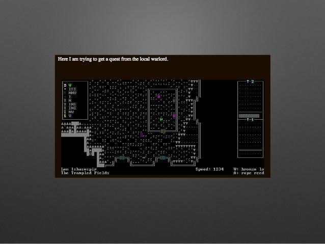 Mining Someone Else's Magic World: Dwarf Fortress Story