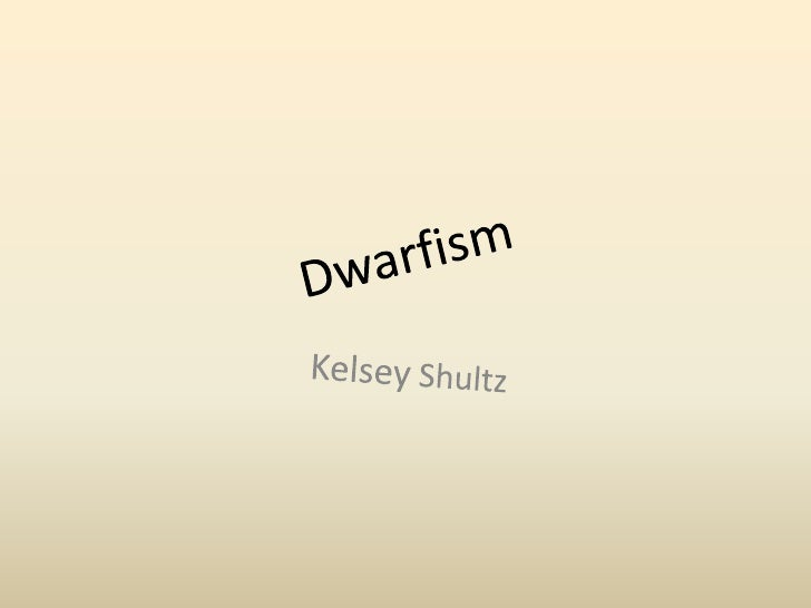 Dwarfism • Dwarfism: an intellectual disability, Abnormally short stature. Some   forms are hereditary. The Little People ...