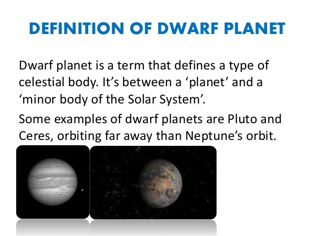 Dwarf planets for Define pluto