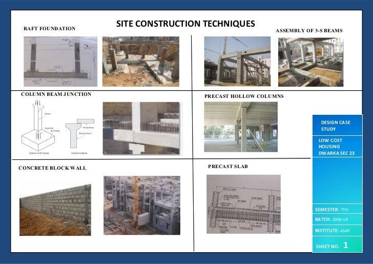 Low cost housing delhi for Low cost housing construction techniques
