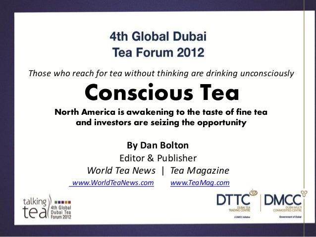 Those who reach for tea without thinking are drinking unconsciously              Conscious Tea      North America is awake...