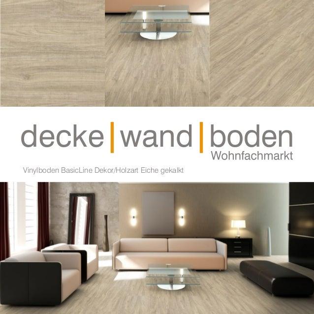 Dwb Produktinformation Vinyl Boden Basic Eiche Gekalkt V56018