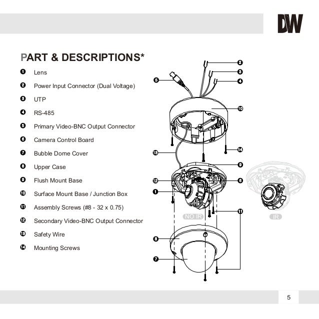 Digital Watchdog DWC-V4363TIRB User Manual