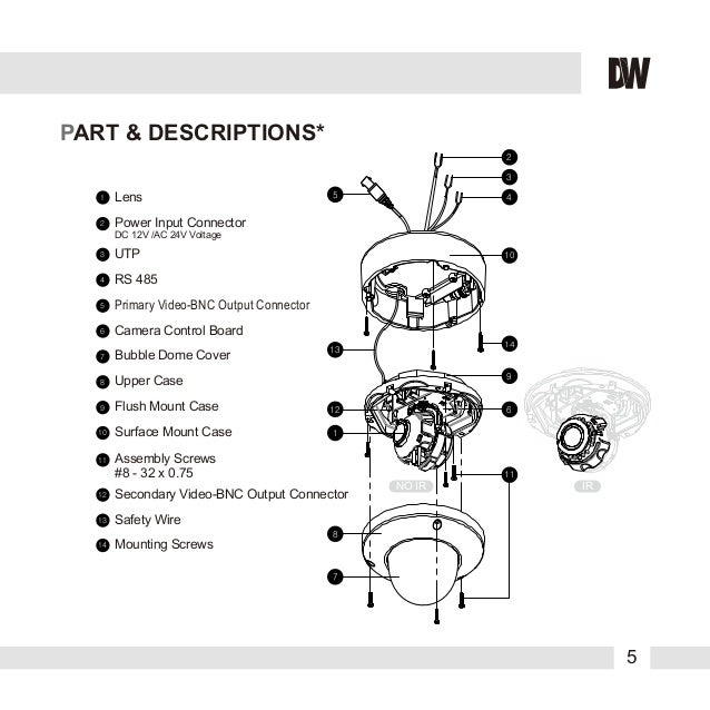 Digital Watchdog DWC-V4567WD User Manual
