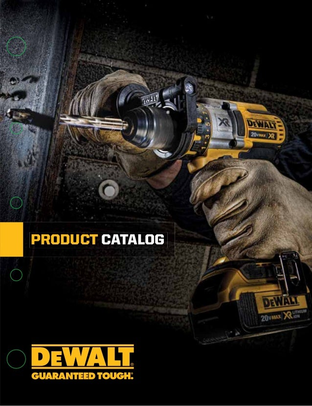 DeWalt Catalogo 2015 on