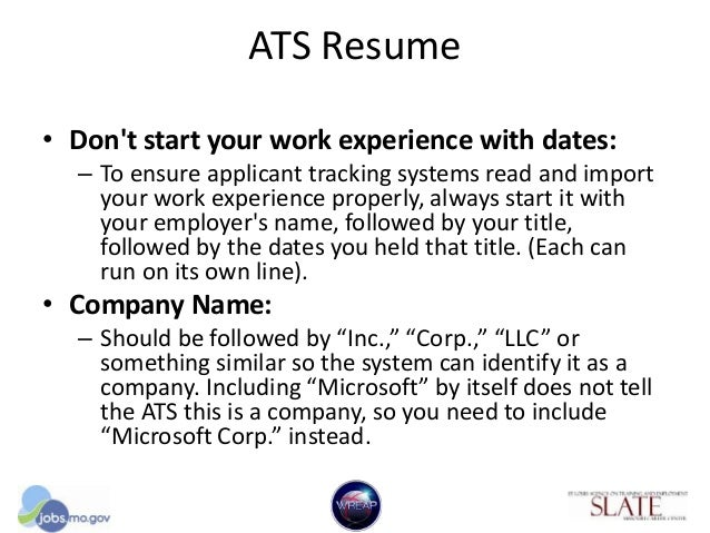 resume format for applicant tracking system ats friendly resume