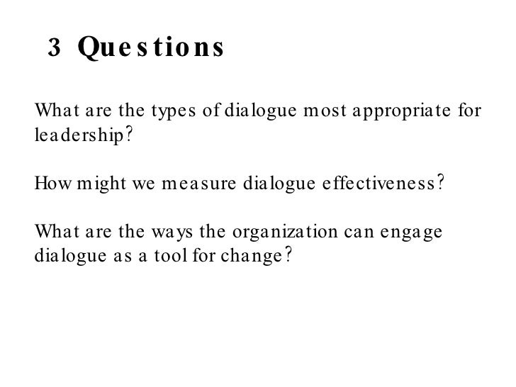 how to write a question in dialogue