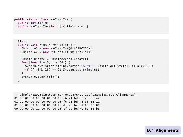 public static class MyClassInt {      public int field;      public MyClassInt(int v) { field = v; }    }      @Test      ...