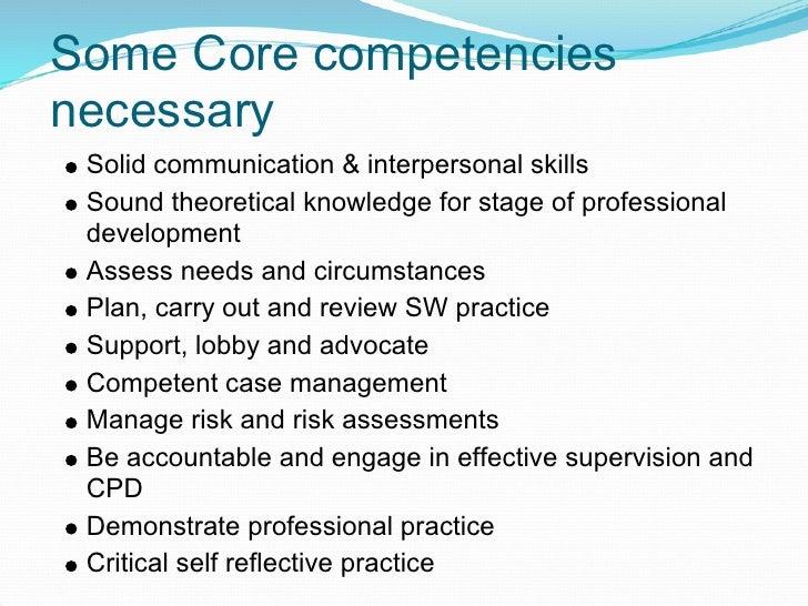 Developing social work practice