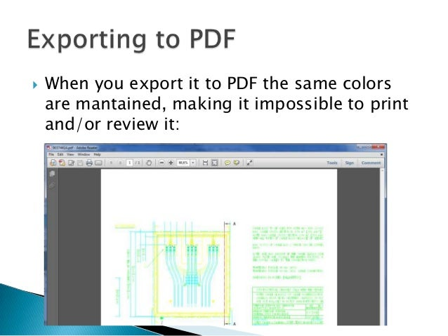 DWG TrueView - exporting pdf in B&W