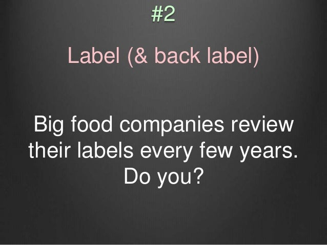 What is it made from? Where was it produced? Does your back label really offer useful information?