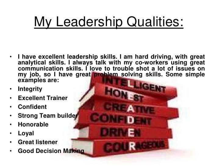 excellent leadership