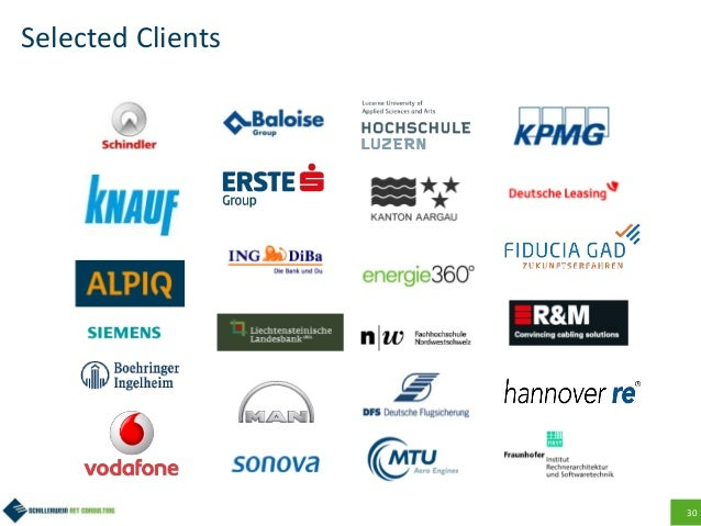 30 Selected Clients