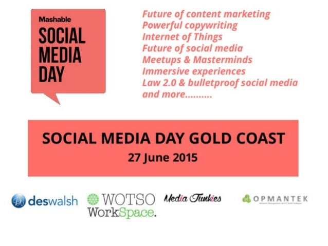 Use the Hashtags #smday #smdaygc